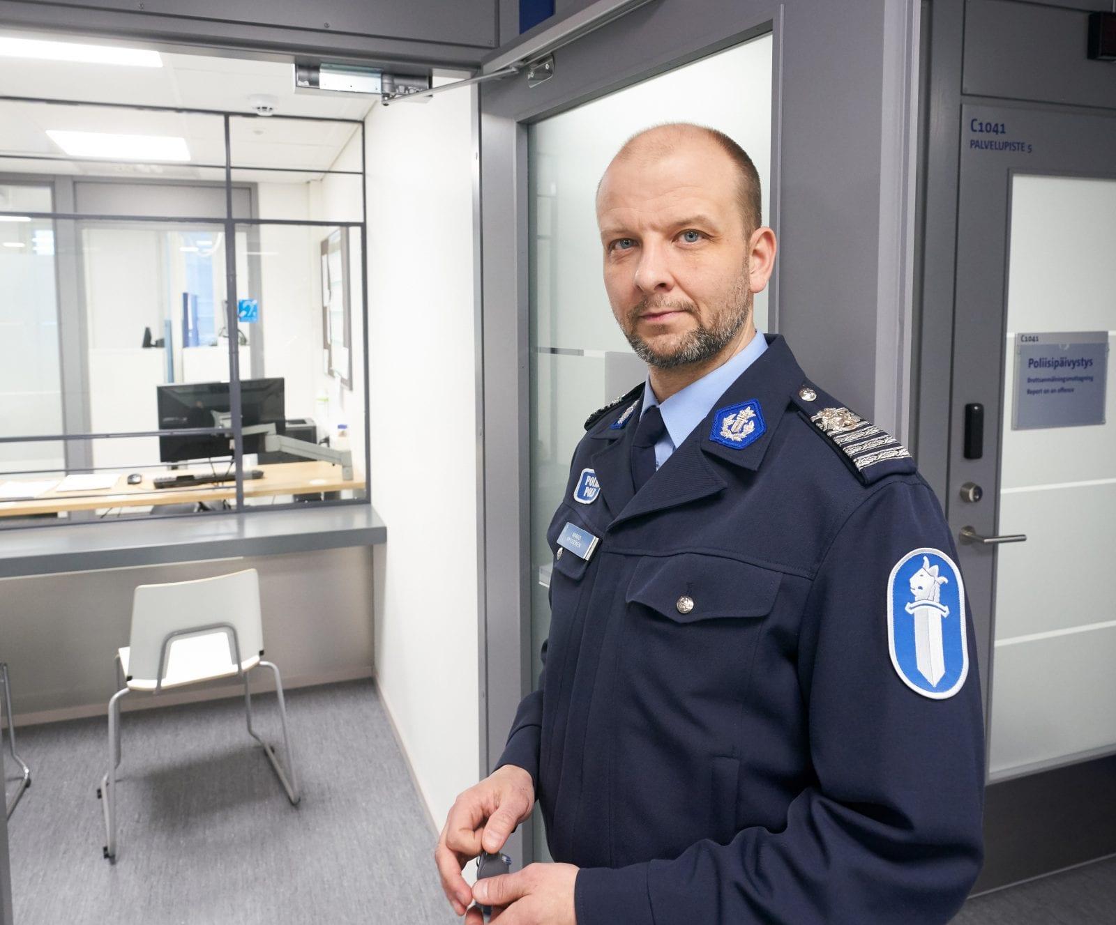 Eracontent/Senaatti 20181219 Lappeenranta. Kaakkois-Suomen poliisilaitos, Lappeenrannan poliisiasema.