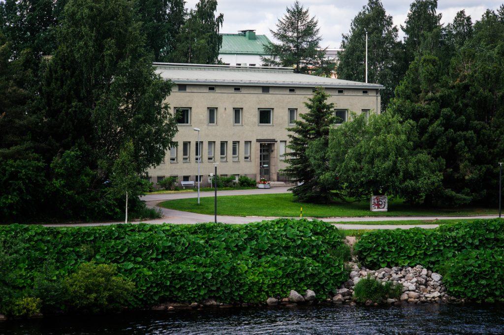 Senaatin toimisto Rovaniemellä.