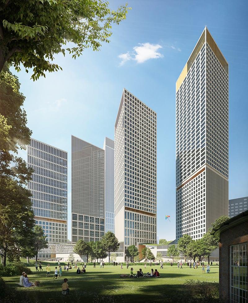 Helsinki High-rise, YIT:n Trigoni-suunnitelma