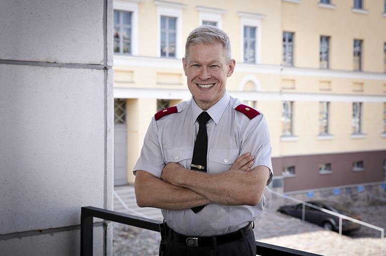 Koulutuspäällikkö, prikaatikenraali Jukka Sonninen, Pääesikunta