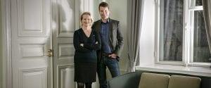 Heidi Nummela ja Mika Kankainen työ- ja elinkeinoministeriössä