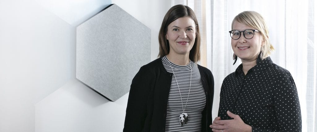 Anniina Virta-Toikka ja Katri Kallio-Koski