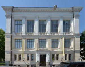 Arkkitehtuurimuseo. Kasarmikatu 24, Helsinki. Etujulkisivu.