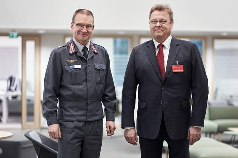Reima Kuutsa ja Vesa Rakkola.