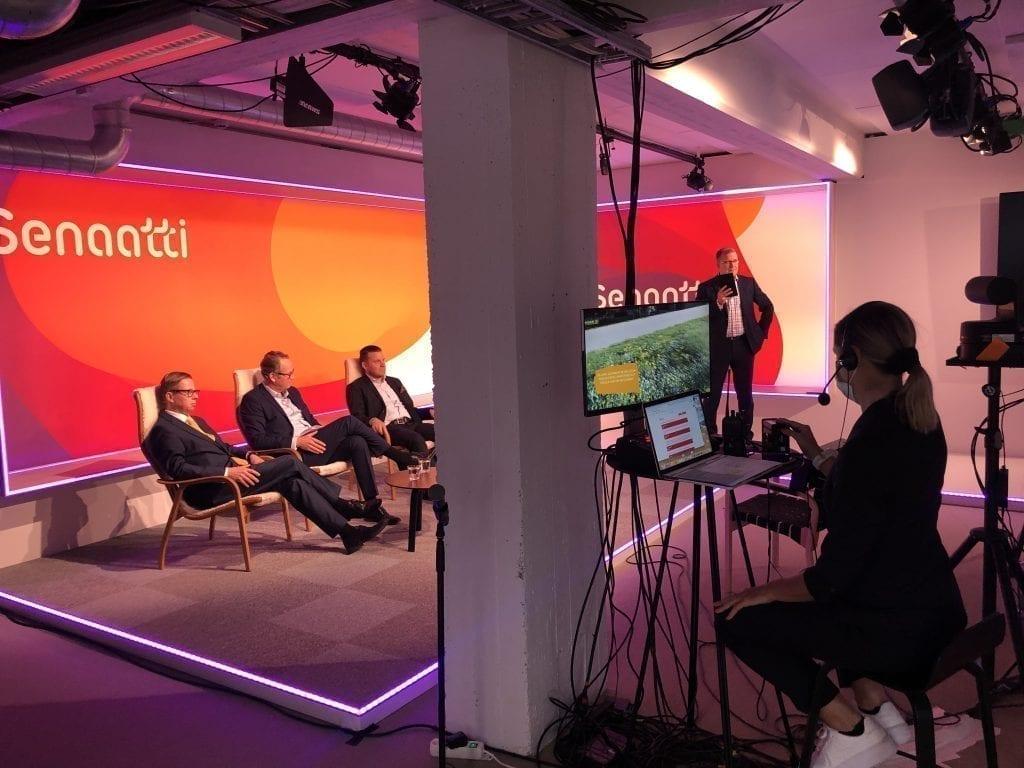 Senaatin Tori 2020 järjestettiin ensimmäisen kerran virtuaalitapahtumana.