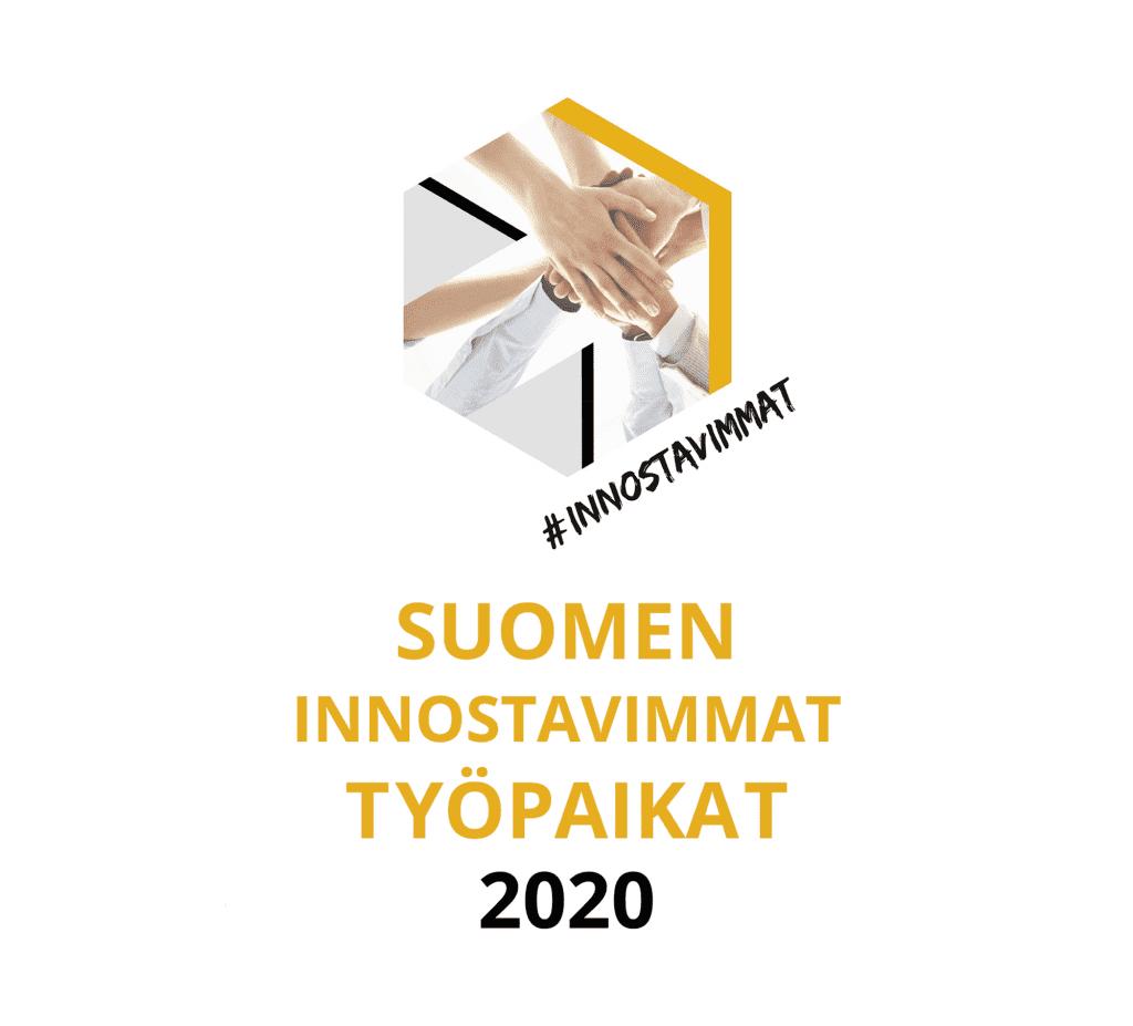 Suomen innostavimmat työpaikat 2020