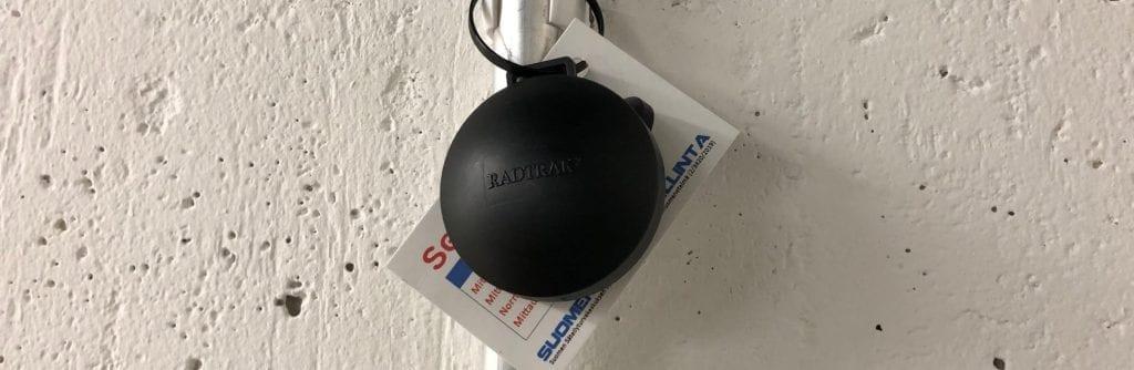 Radonmittauspurkki