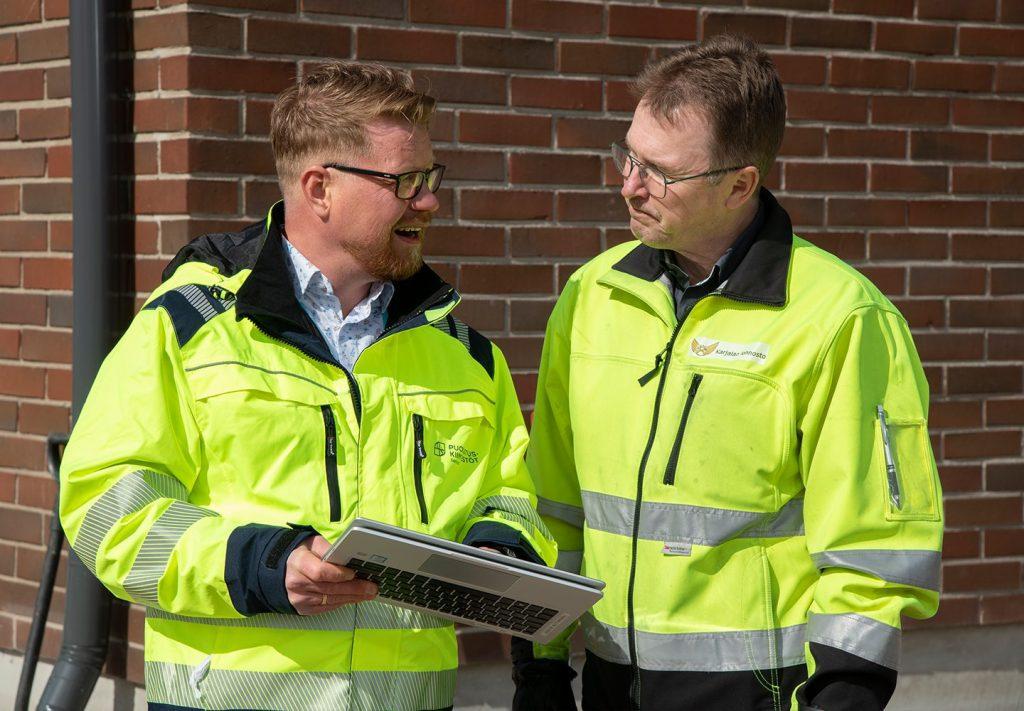 Mikko Rissanen ja Janne Räsänen