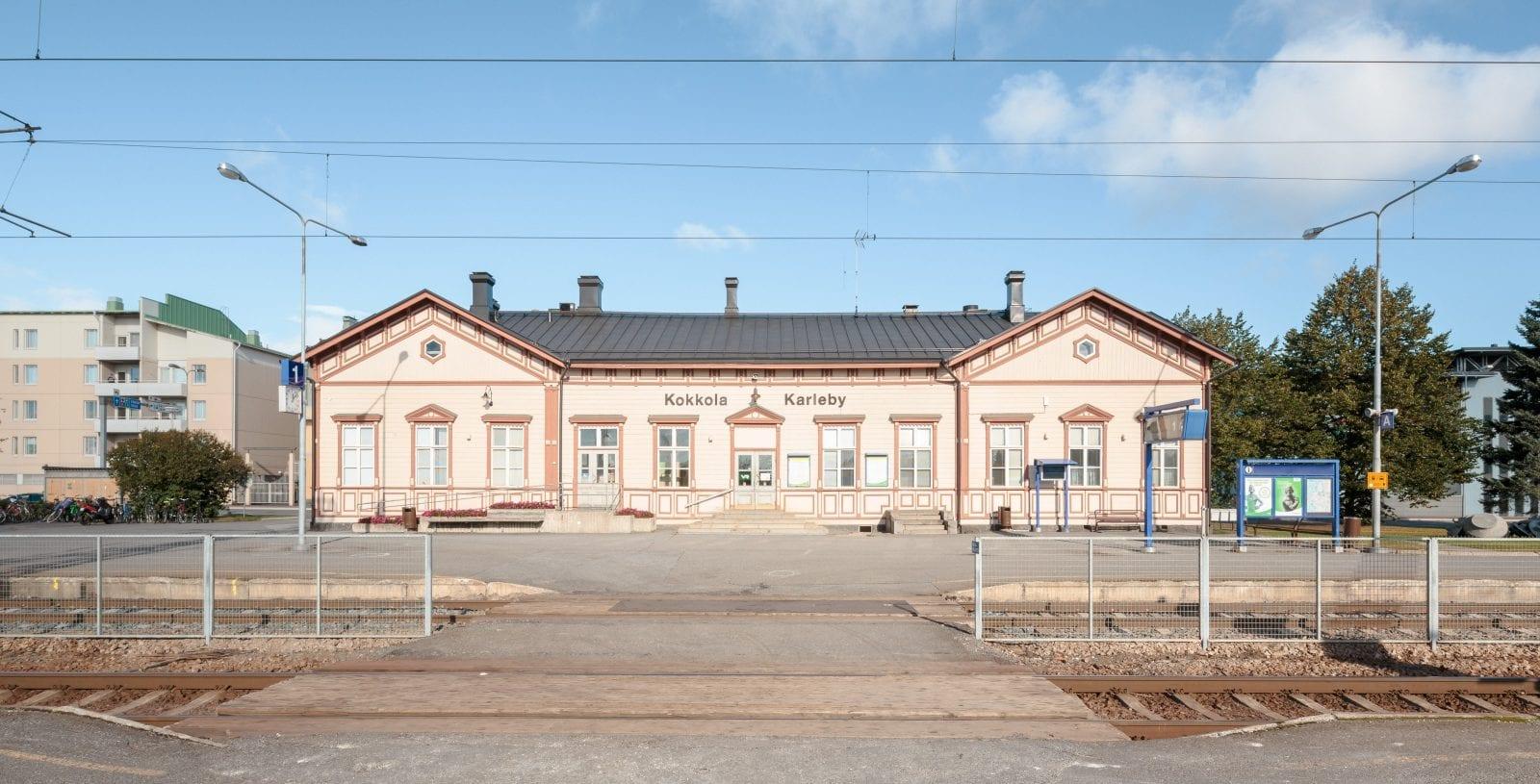 VR 20130925 Kokkolan rautatieasema, Kokkola